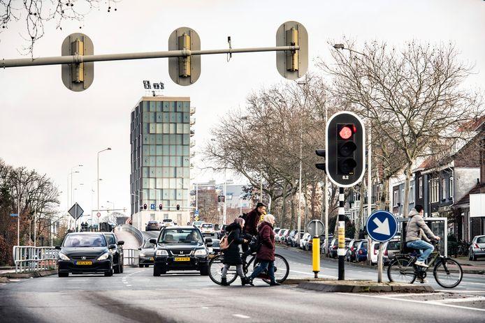 Graafseweg, ter hoogte van de Rozenstraat.