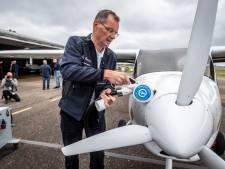 Elektrische 'vleermuis' hoor je op Eindhoven Airport niet eens aankomen