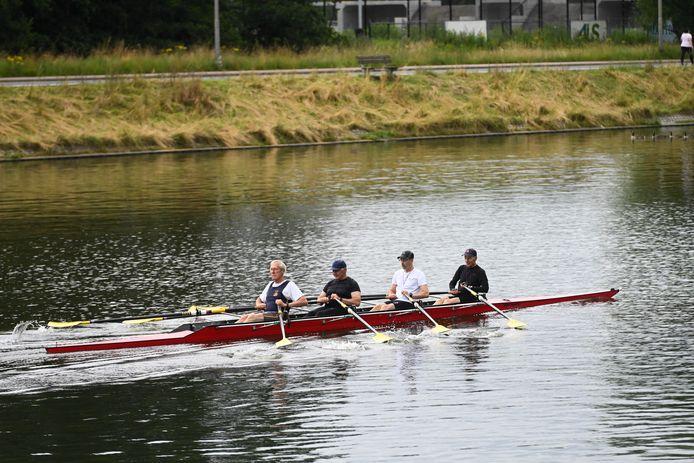 Archiefbeeld: roeiers op de Watersportbaan. (photo by Florian Van Eenoo/Photo News)