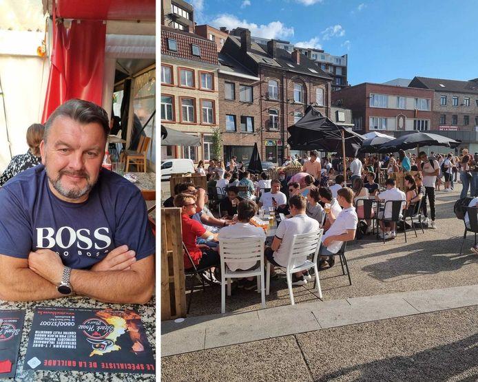"""Le propriétaire du """"So You"""" à Charleroi, Sébastien Brohette, va subir un gros manque à gagner à cause d'un arrêté de police."""