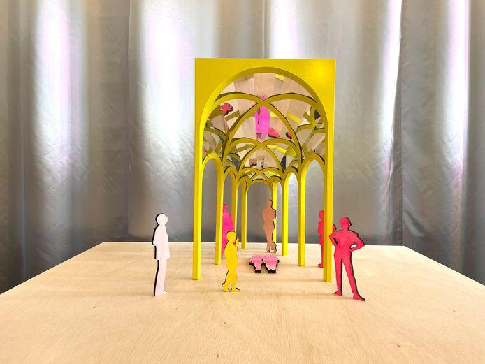 Na een 'intensief traject' werd Atelier ARI op dinsdag 8 juni uitgeroepen tot de gelukkige winnaar, met hun kunstwerk De Telepoort.
