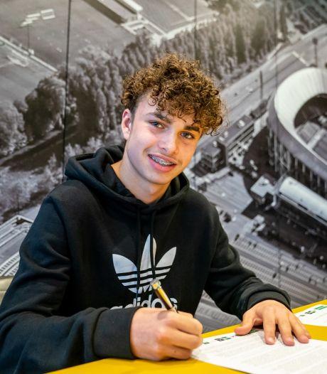 Twents talent tekent langdurig contract bij Feyenoord