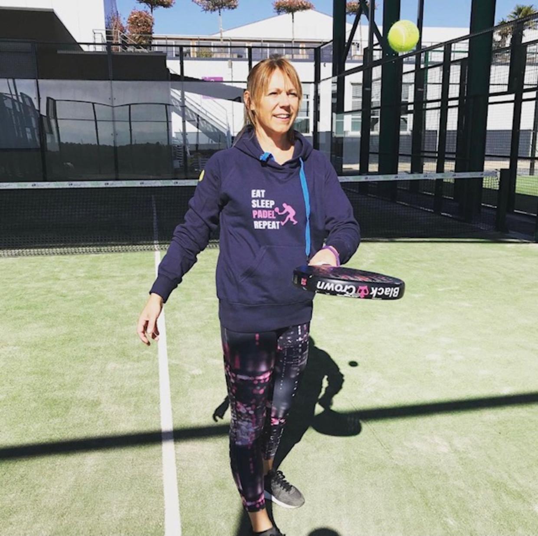 Oud-tennisster Sabine Appelmans. Beeld Sabine Appelmans
