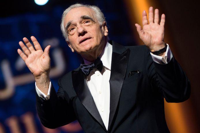 Martin Scorsese au festival du film de Marrakech 2018.