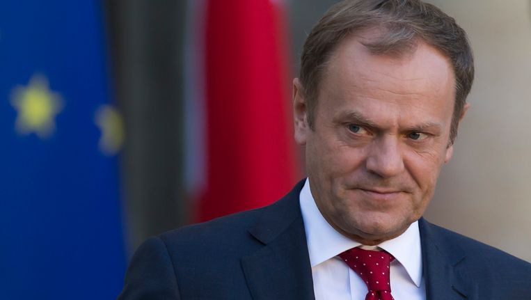 Voorzitter van de Europese Raad Donald Tusk