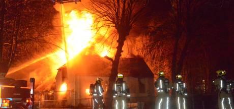 Uitslaande brand in leegstaand slooppand Rijswijk