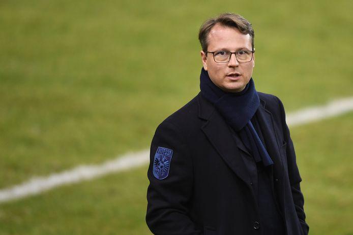Johannes Spors, de technisch directeur van Vitesse.