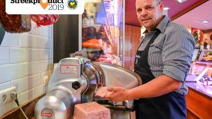 """Dendermondse kop van Slagerij Batselier: """"De fijnste smaak omdat het vlees handmatig fijn gesneden wordt"""""""