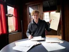 Maarten Biesheuvel rookte zijn laatste sigaartje met zijn vriend en uitgever, oud-Gorenaar Aart Hoekman