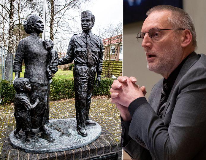 Burgemeester Tom Horn van Epe was toch niet aanwezig bij de herdenking van Molukkers in Vaassen.
