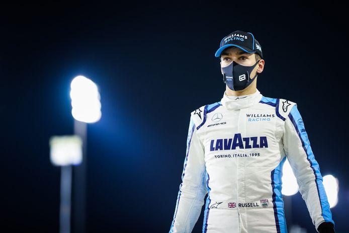 George Russell troquera sa Williams pour la Mercedes de Lewis Hamilton, le week-end prochain, à Bahreïn.