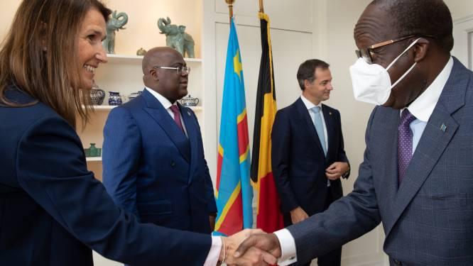 """De Croo na lunch met Tshisekedi: """"Nieuwe dynamiek in relatie tussen België en Congo"""""""