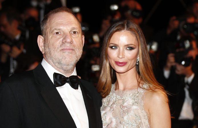 -Harvey Weinstein en zijn ex-vrouw Georgina Chapman
