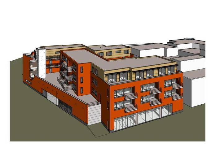 Zo ziet het nieuwe complex eruit. bron: Nebuvast