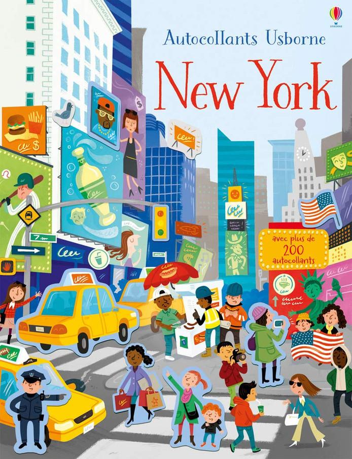 Livre d'autocollants sur New York.