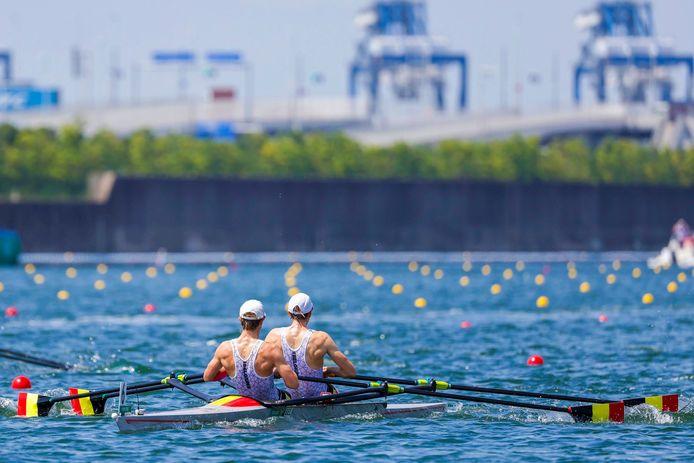 Les Belgian Sharks ont échoué à la cinquième place de leur finale olympique et ils sont très déçus.