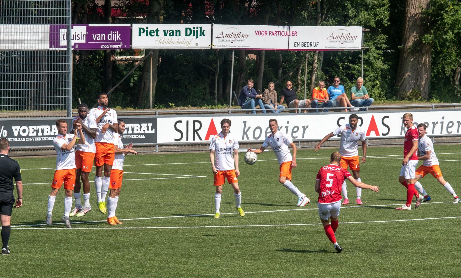 TEC speelde vorige week zaterdag een vriendschappelijke wedstrijd tegen DOVO.