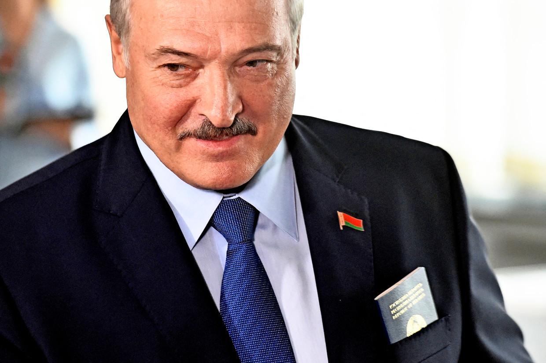 De Wit-Russische president Aleksandr Loekasjenko.  Beeld AFP