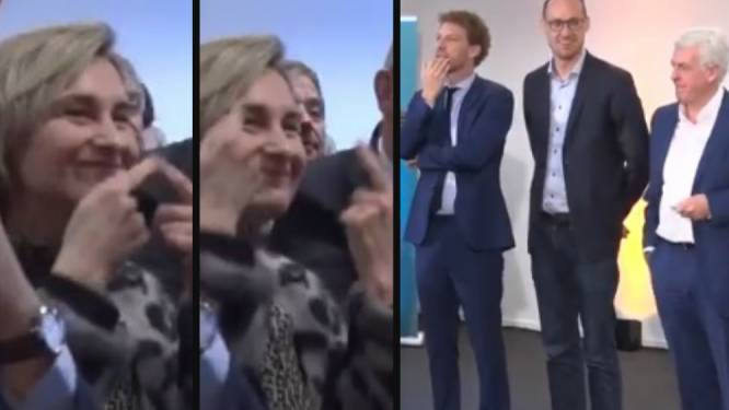 Crevits maakt 'subtiel' duidelijk dat ook verliezende CD&V-kandidaten moeten blijven lachen