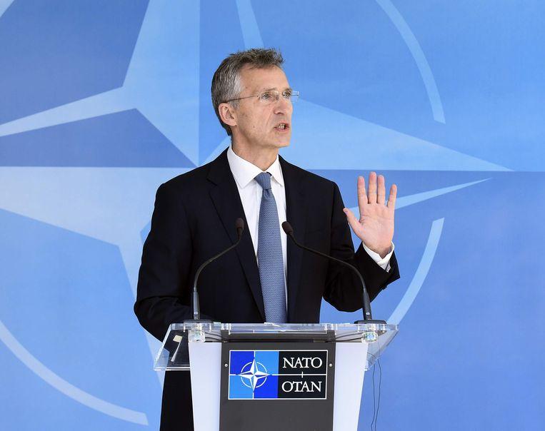 NAVO-secretaris-generaal Jens Stoltenberg: