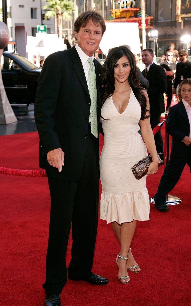 Bruce Jenner is de stiefvader van Kim Kardashian Beeld UNKNOWN