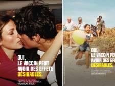 """""""Oui, le vaccin peut avoir des effets désirables"""": une campagne d'affichage unanimement saluée en France"""