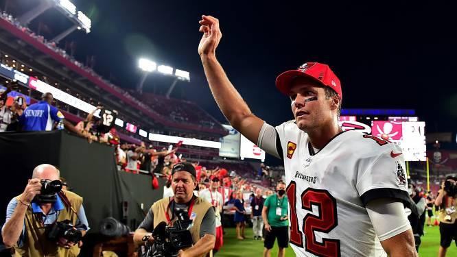 Uitblinker Brady (44) is weer record rijker bij start American football-seizoen