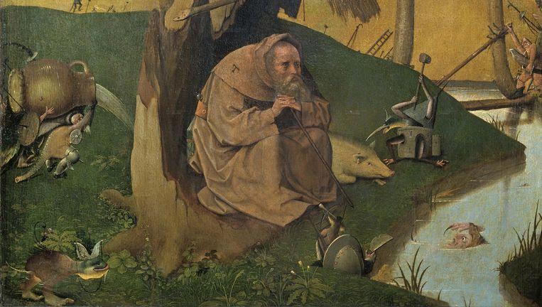 Het Prado weigert 'De verzoeking van de heilige Antonius' nog uit te lenen. Beeld rv
