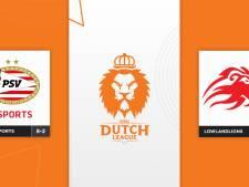 PSV Esports en LowLandLions strijden om 2500 euro in finale Dutch League