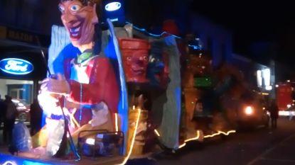 Carnavalsstoet in Sint-Gillis-Waas en Elversele afgelast door stormweer