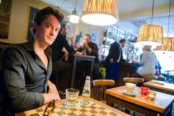 Scriptschrijver Lucas de Waard van de PSV-musical.