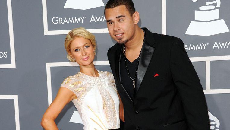 Volgens aanhoudende geruchten zou Afrojack een relatie hebben met hotel-erfgename Paris Hilton. Beeld getty