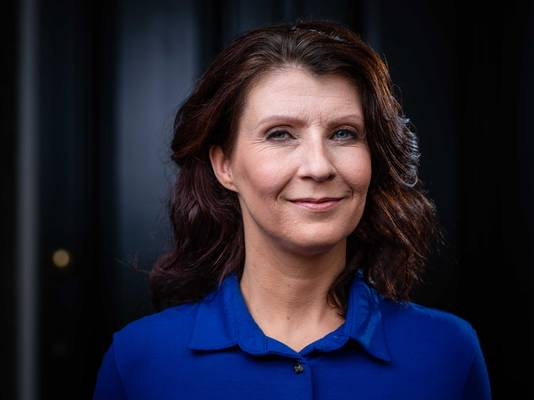 Esther Ouwehand, lijsttrekker en Tweede Kamerlid voor de Partij van de Dieren.