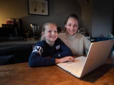 Kinderen als Madelief uit Dronten kiezen online hun middelbare school: 'Ik mis de brok in mijn keel'