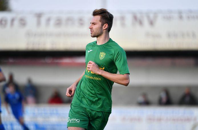 Dario De Roover wil zo snel mogelijk weer op het veld staan na zijn knieblessure, maar de kans is klein dat dat in het shirt van Sint-Lenaarts zal zijn.