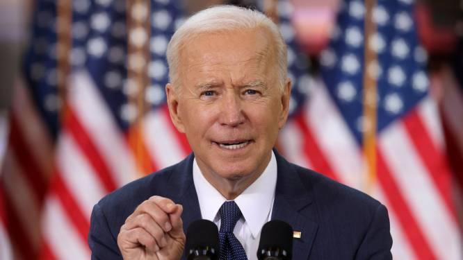 """Biden belooft """"miljoenen banen"""" met historisch investeringspakket van 2 biljoen dollar in Amerikaanse infrastructuur"""