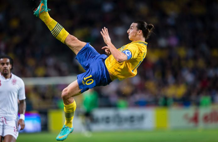 Ibrahimovic is met 62 goals de topscorer aller tijden van Zweden.