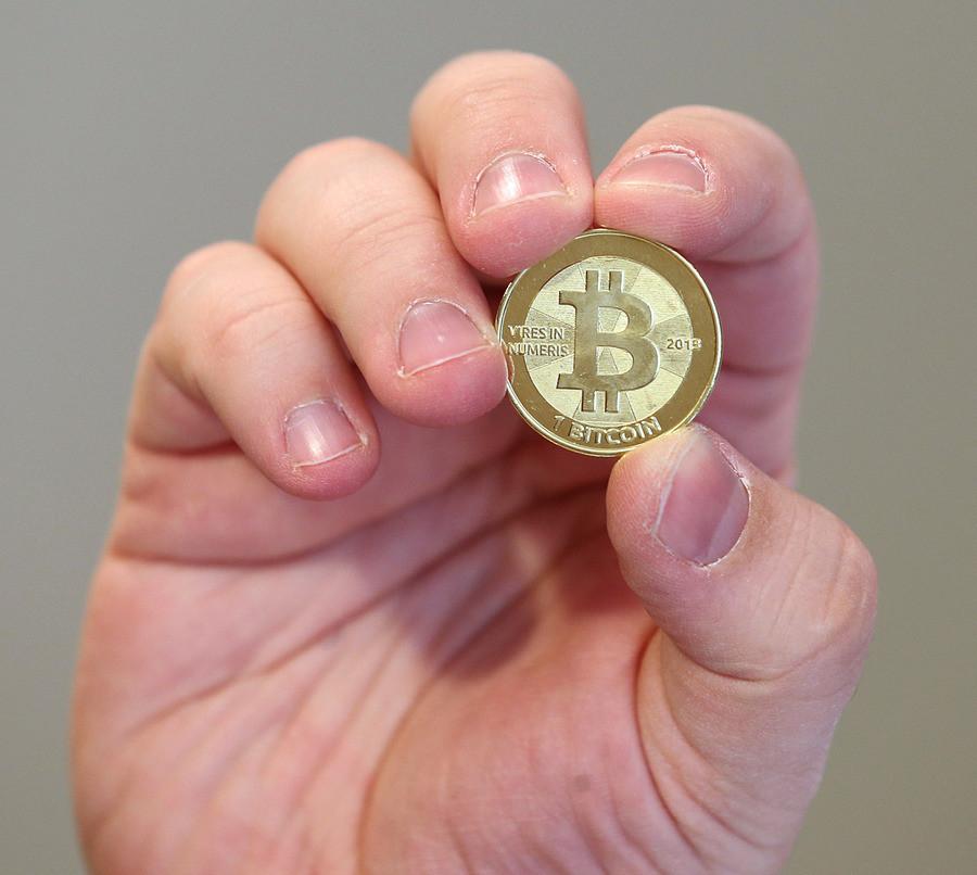 Een bitcoin