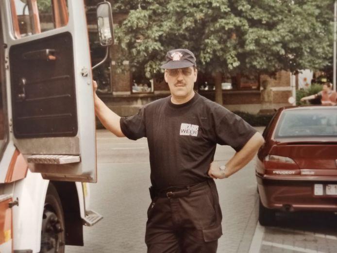 François Van Leemput was brandweerman bij de brandweer van Lint.