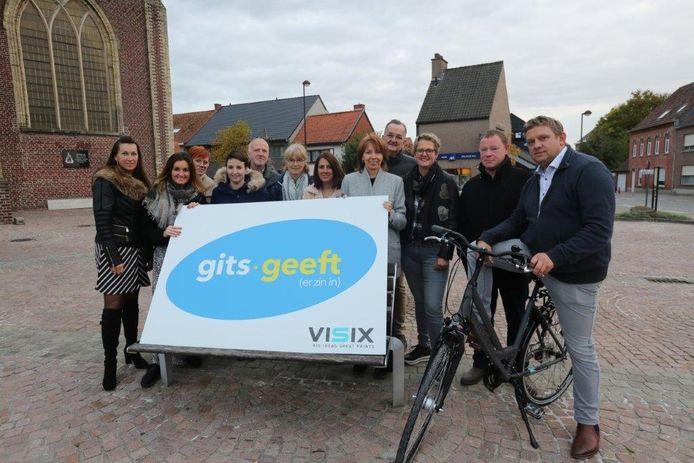 De eindejaarsactie neemt een nieuwe start als 'Gits Geeft' (er zin in).