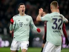 Bayern wint met speels gemak in Hannover