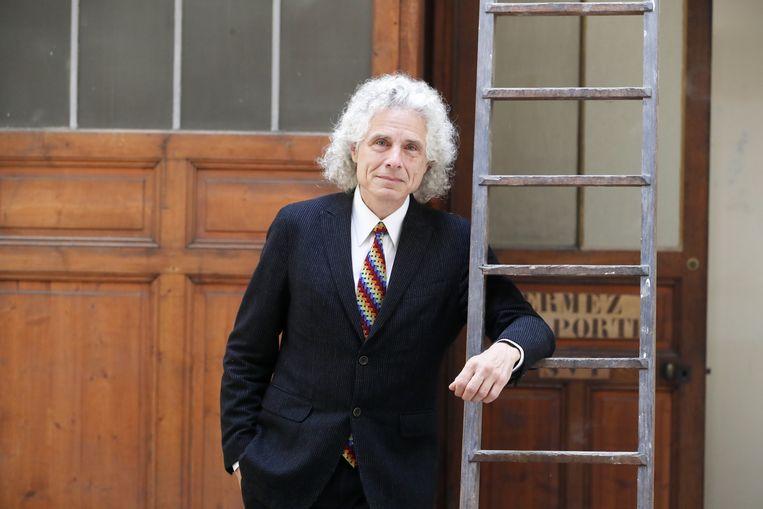 Steven Pinker. Beeld BELGAIMAGE