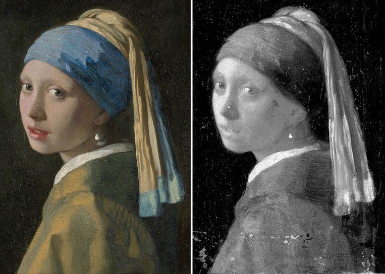 Johannes Vermeer: Meisje met de parel (c. 1665) Beeld ANP Handouts