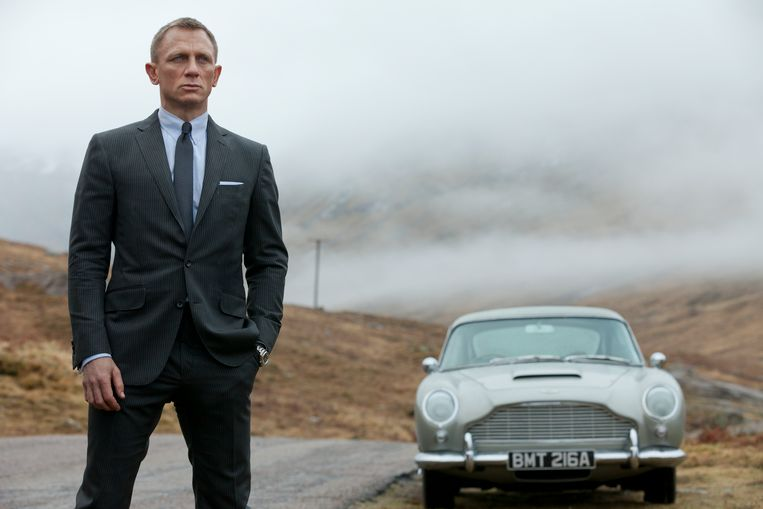 Daniel Craig in Skyfall. Beeld