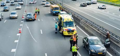 Kilometerslange files: ernstig ongeval zorgt voor drukke spits bij Utrecht