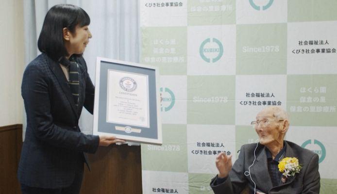Né à Niigata, au Japon, en 1907, Watanabe a 112 ans et célèbrera ses 113 ans le 5 mars prochain.