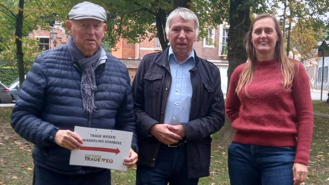 Wandelparcours loodst deelnemers langs Trage Wegen Sombeke