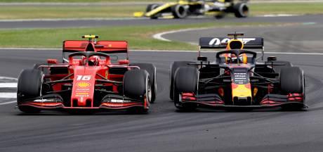 Verstappen en Leclerc gaven alvast een voorproefje in 'Battle of Silverstone'