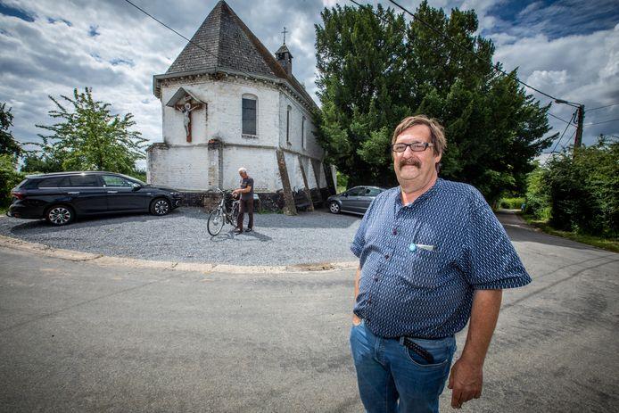 Gemeentegids Jo Billen neemt ons mee door Wellen, waar tot op vandaag een parel van een legende leeft in de streek rond de kapel van Oetersloven.