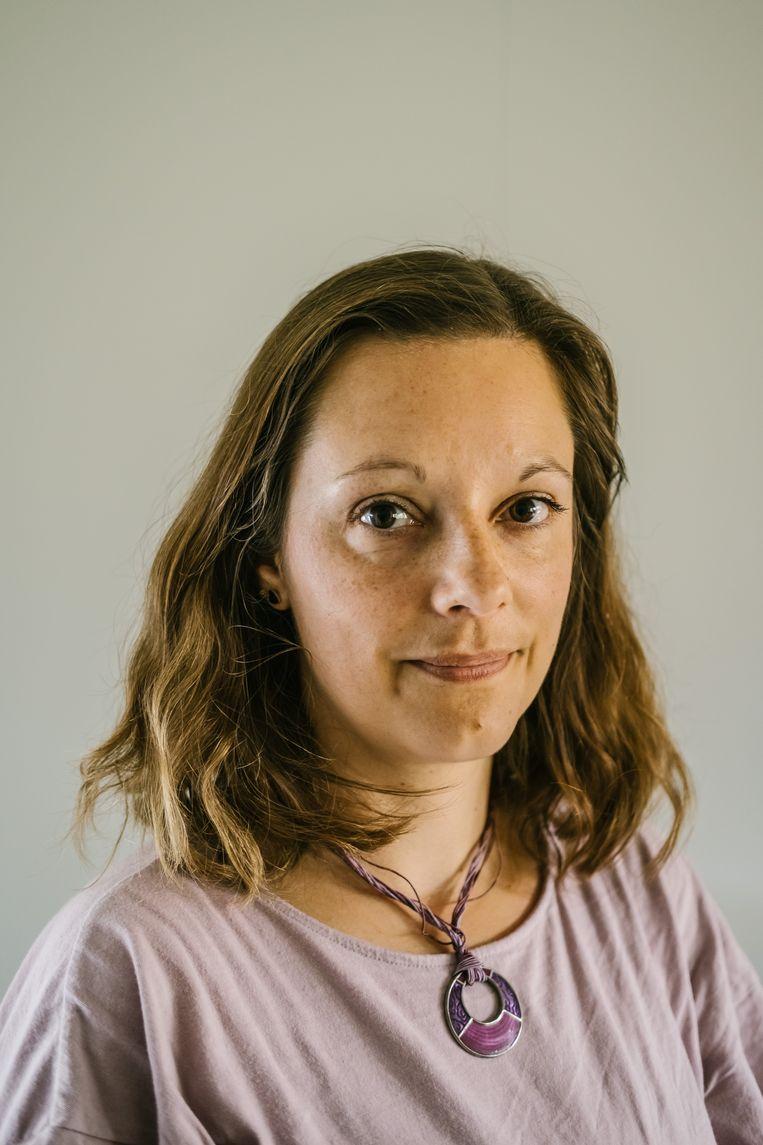 Vanessa Frangville (ULB) Beeld Wouter Van Vooren